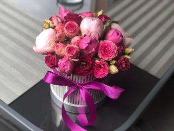 Cutie pentru iubitorii de roz-țiclam
