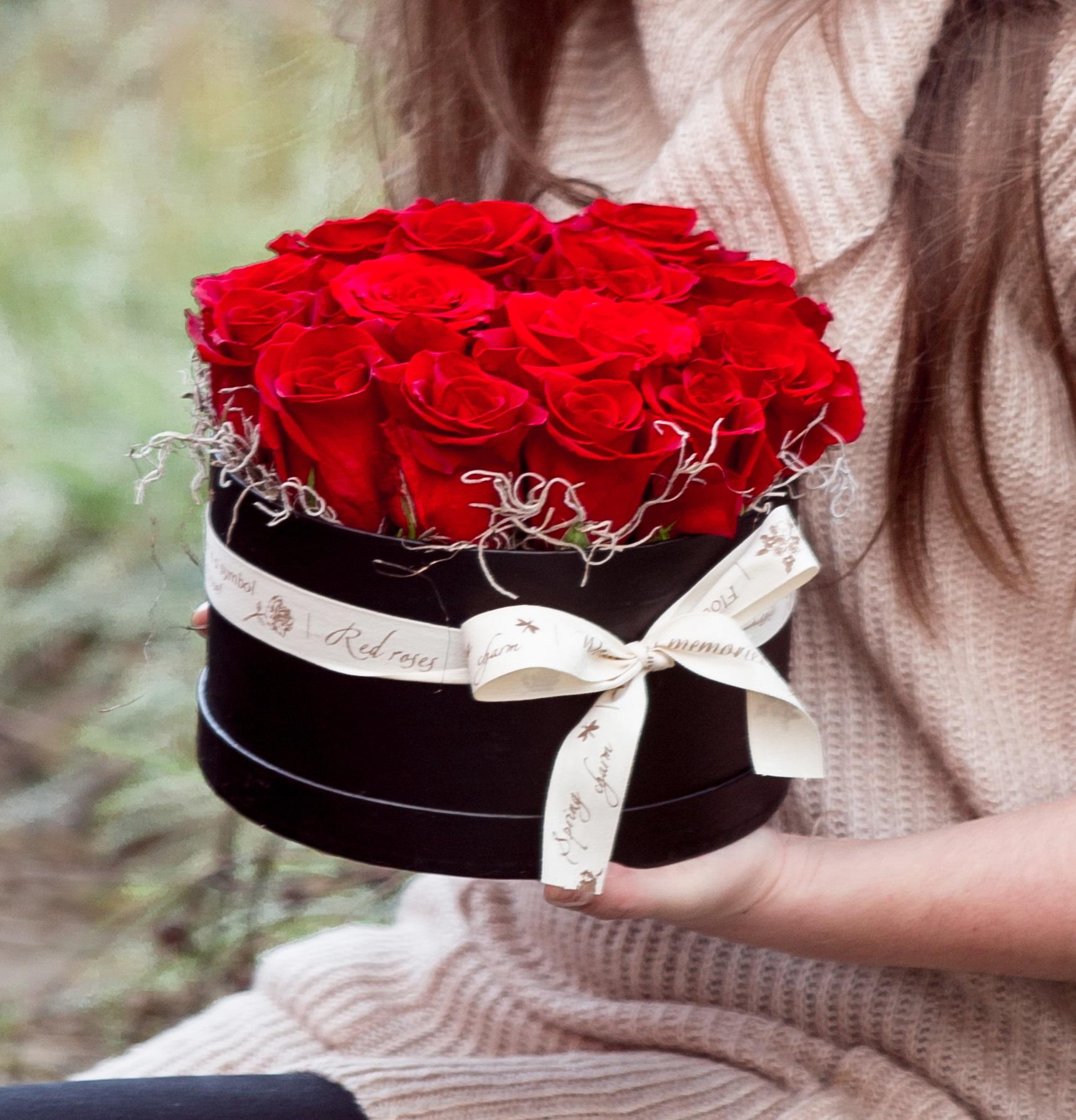 Cutie cu florile iubirii