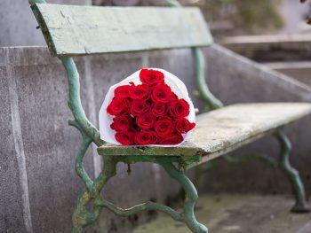Buchet din trandafiri roșii