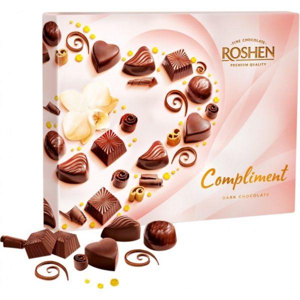 Bomboane cu ciocolată Roshen