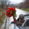 Buchet romantic roșu