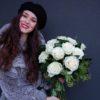 Buchet romantic alb