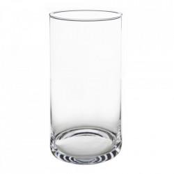 Vază simplă din sticlă pentru flori sau buchete